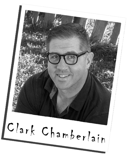 Clark Chamberlain co-host of the book editor show